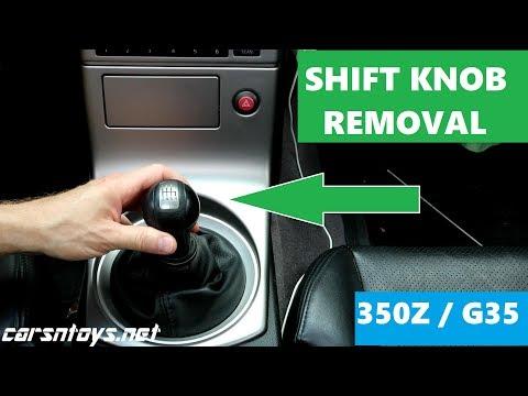 G35 | 350Z | Shift Knob Removal