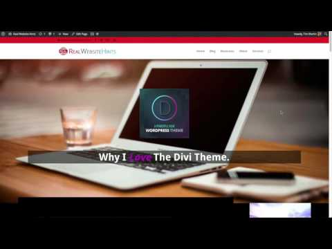 How To Move / Update a WordPress Webpage To Your Live Site Divi theme tutorial