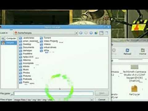 Mount ISO NRG BIN MDF IMG AcetoneISO2 - Ubuntu Linux 8.04