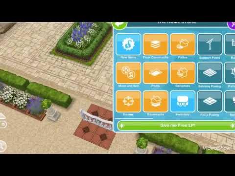 Sims Freeplay 🌲🏡 Patio Gate Glitch!❤️🙂