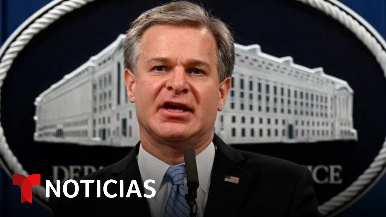 El director del FBI Christopher Wray testifica en el Senado por el ataque al Capitolio | Telemundo