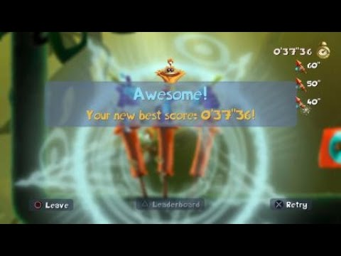 Rayman Legends - Infiltration Station - INVADED (Gold Cup)