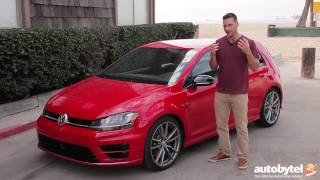 2017 Volkswagen Golf R Test Drive Video Review