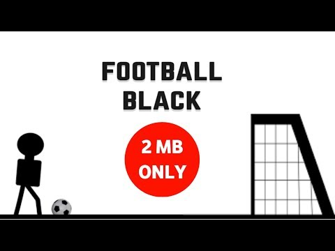 FOOTBALL BLACK ANDROID GAME REVIEW | SMALLEST FOOTBALL GAME