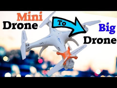 Bigggg Flying Drone from a Small Mini Drone