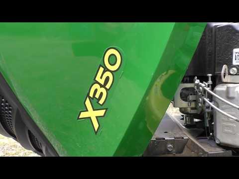 John Deere X350 First Oil Change