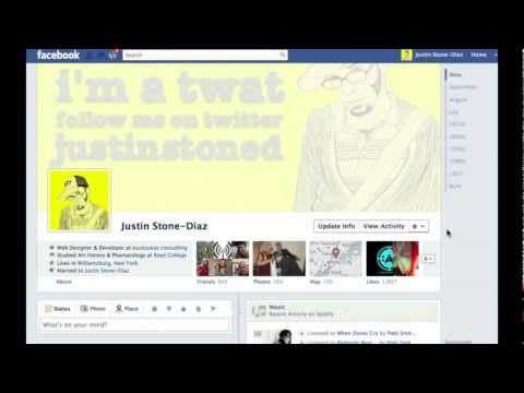 Changing your Timeline Cover for Business or Pleasure on Facebook with @justinstoned