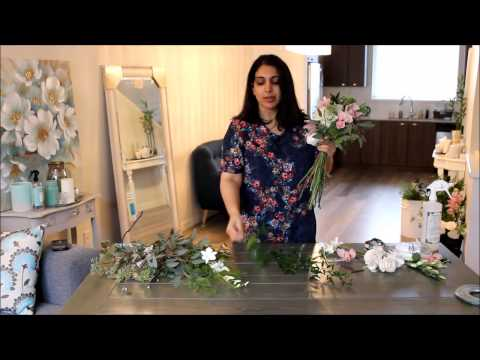 DIY Cascading Bouquet Part I