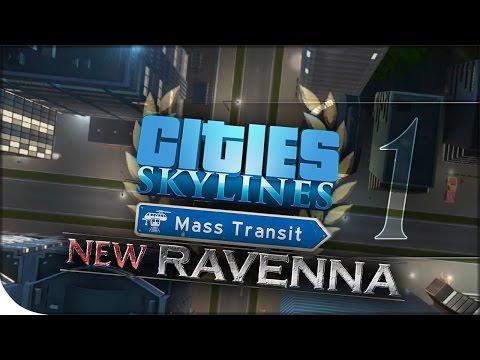 Mass Transit Gameplay, DLC + Update Overview, & TRAFFIC CONTROLS! | Cities: Skylines — New Ravenna 1