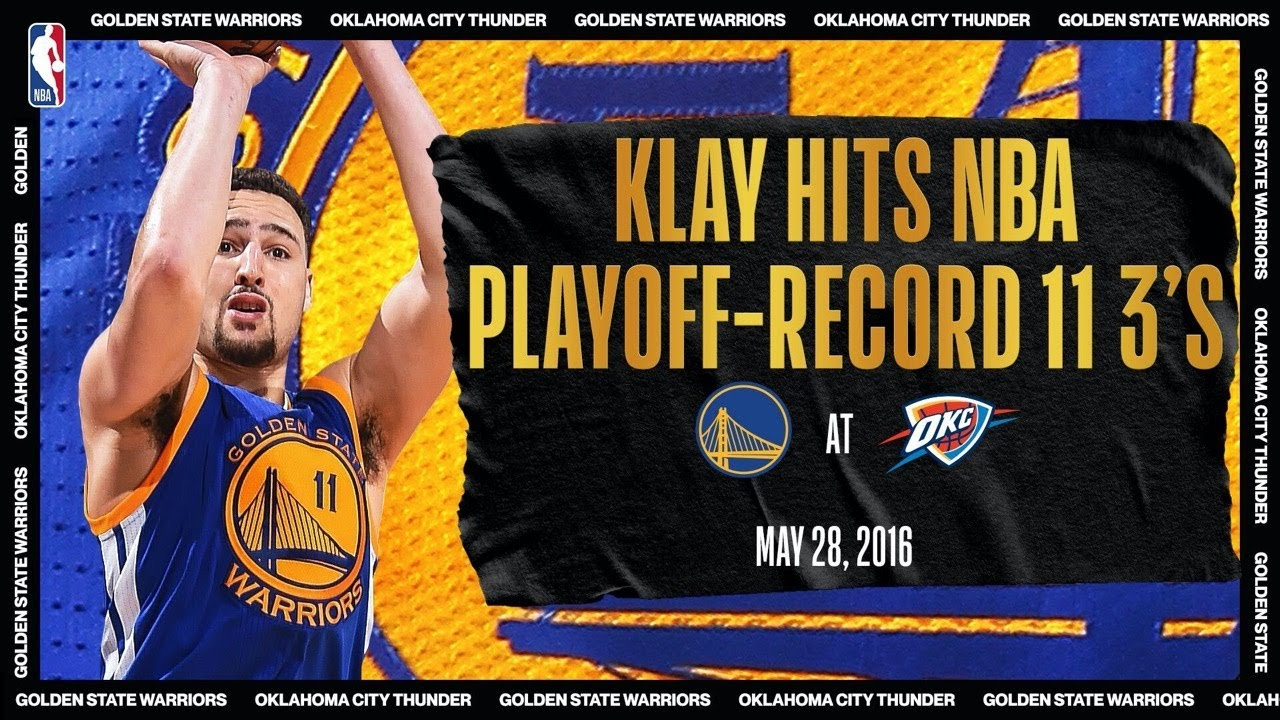 Klay Hits Playoff-Record 11 3's | #NBATogetherLive Classic Game