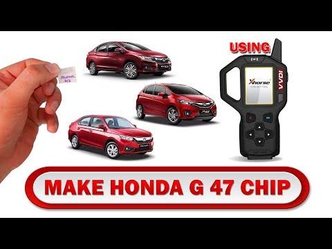 Generate Honda 47 G Chip using VVDI key tool