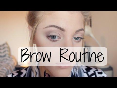 Blonde Brow Routine   Anastasia Dipbrow Pomade