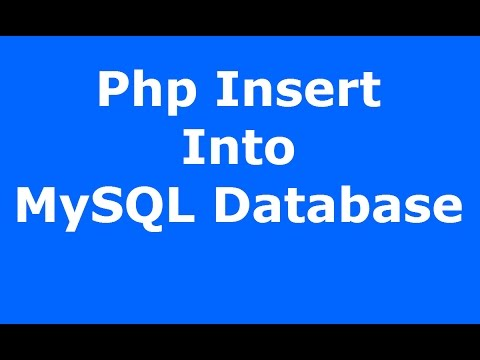Php : How To Insert Data Into MySQL Database Using Php MySQLI [ with source code ]