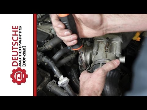 How to Remove and Install a 1.8T Throttle Body
