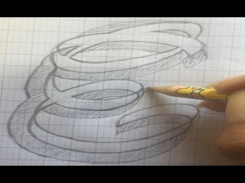 how to write letters '' E '' - style letters - fancy letters - draw letters