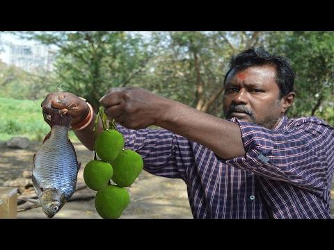 Mango fish curry prepared by raju master || village style