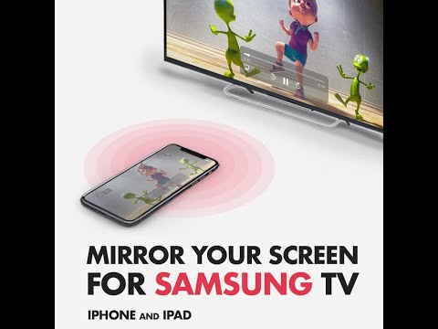 How to mirror your iPad to your Samsung Smart TV