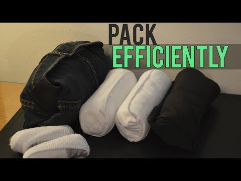 How to Pack Clothes for Traveling