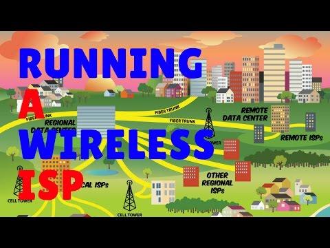 Running a wireless ISP