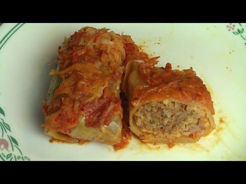 Sarma (Cabbage Rolls), Slovenian recipe