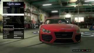 GTA5 Online Fast and Furious 7 Audi R8 Custom Car Build