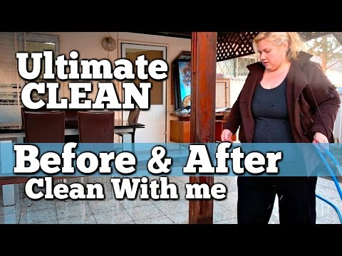 ULTIMATE CLEAN WITH ME Extremely Messy House DECLUTTER & CLEANING Before and After Motivation!