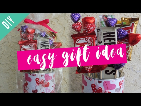 Last Minute Valentine's Gift Idea (Candy Bouquet)