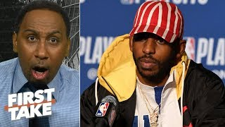 'Where the hell are you Chris Paul?' - Stephen A. rants about CP3's Game 5 performance   First Take