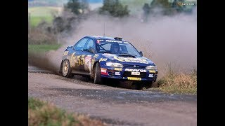 [WRC] Subaru Impreza WRC 555 Colin Mcrae / Carlos Sainz 1995 compilation with pure sound HD