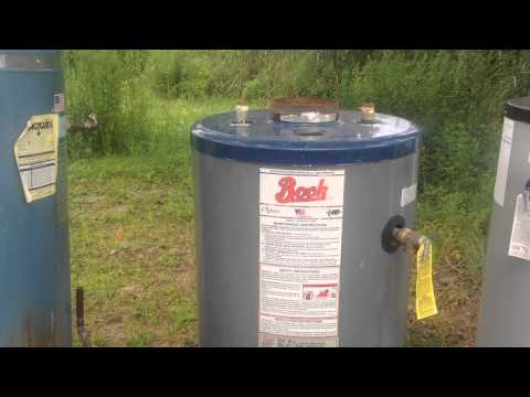 Identifying commonly found oil-fired water heaters