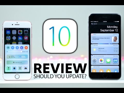 iOS 10 Review - Should You Update?