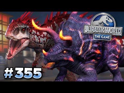DEFEATING THE MEGA TRIKE!!! || Jurassic World - The Game - Ep355 HD