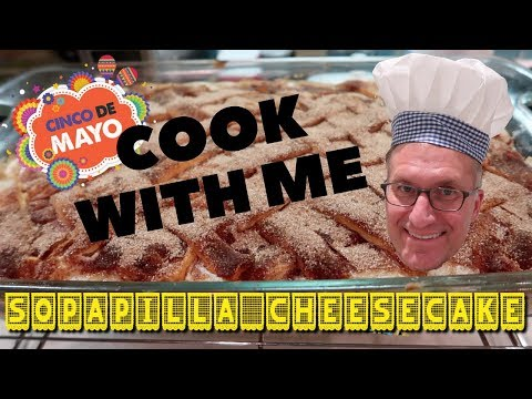 Cook With Me:  Sopapilla Cheesecake