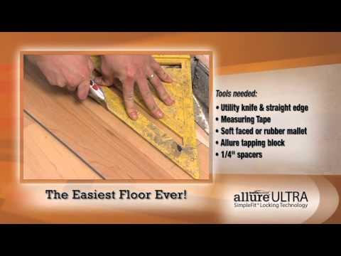 Allure Ultra SimpleFit Flooring (60 second video)