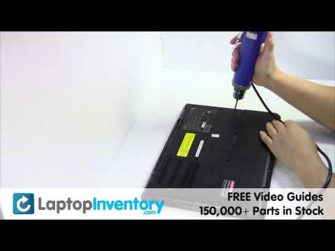 Sony Vaio VPC-SB DVD Replacement Disassembly Take Apart VPC-SA VPCSA VPCSB PCG 41216L