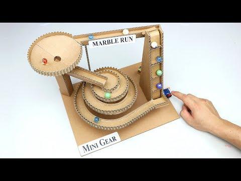 Wow! Amazing DIY Marble Run Machine from Cardboard