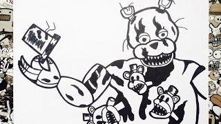 Dibujos De Nightmare Mangle Videos 9tubetv