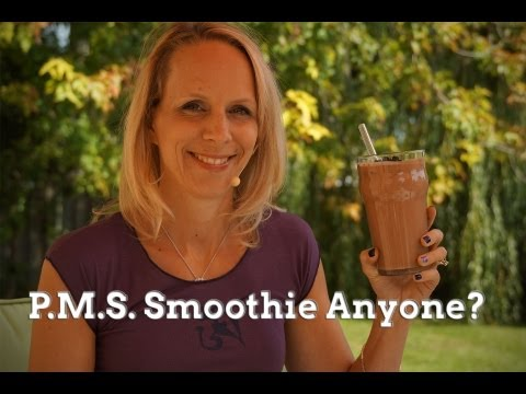 Brownie Batter Smoothie - PMS Smoothie