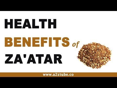Health Benefits of Za'atar