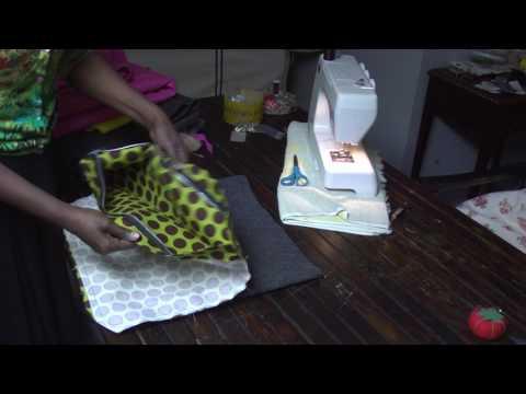 DIY How to make a shoulder bag out of Felt