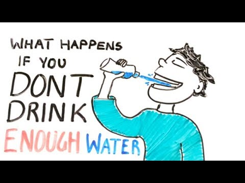 What happens if you dont drink enough water? Signs of Dehydration + 4 ways to keep hydrated