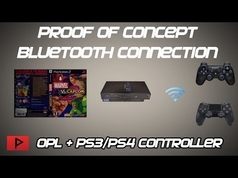 [Proof of Concept] Playing PS2 Games With OPL and PS3/PS4 Controllers Over Bluetooth