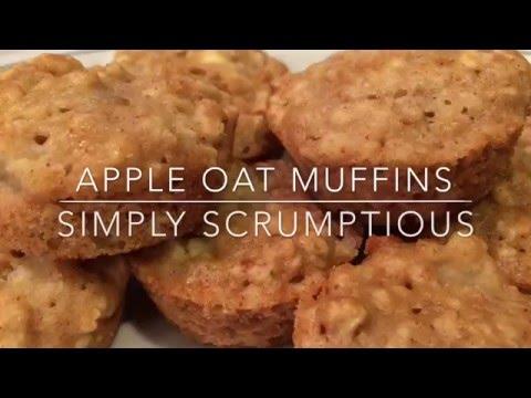 Apple Oat Muffins {Vegan} |simply scrumptious|