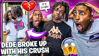 DEDE3X BROKE UP WITH HIS CRUSH💔& FLIGHT WANTS TO 1V1 FUNNYMIKE!🏀