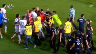 Turkey vs Cyprus: fight after the Cypriots won!