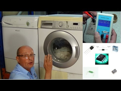 Washing machine starts then stops or turns off