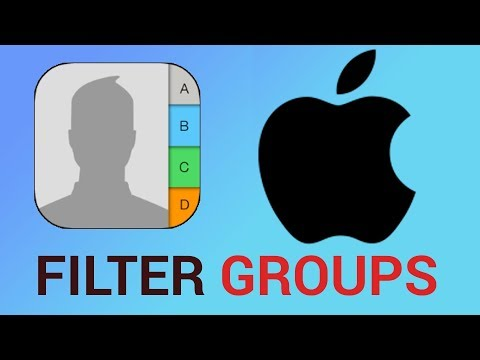 How to Filter Groups that can Reach you in iPhone Contacts and iPad