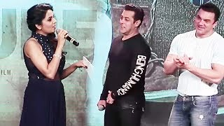 Sugandha Mishra's FUNNY COMEDY On Stage With Salman Khan