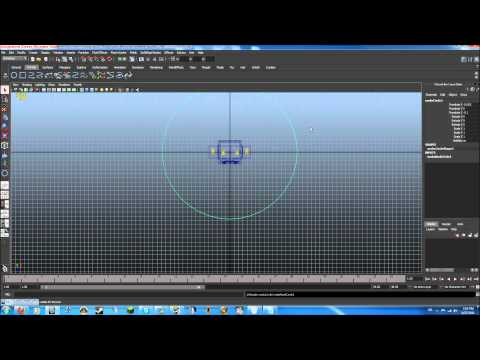Autodesk maya tutorial minecraft character modeling rigging part 7