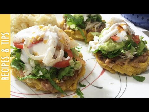 RECIPE: Mexican Sopes with Beans, Cheese and More - The290ss